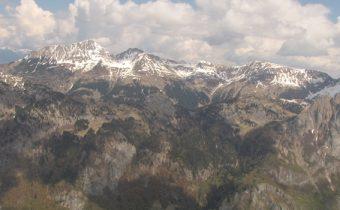 Panorama dal Monte Terzo