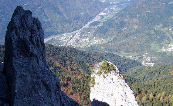 Panorama dal Monte Cucco