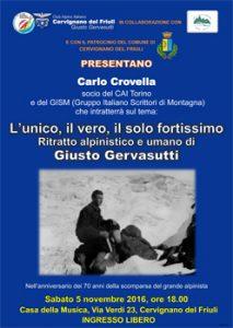 Manifesto Gervasutti