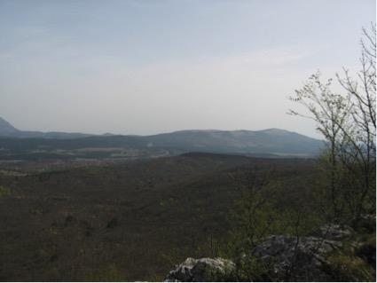 Vista da Stari Tabor