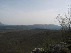 Vista dallo Stari Tabor