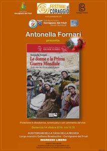 Locandina Antonella Fornari