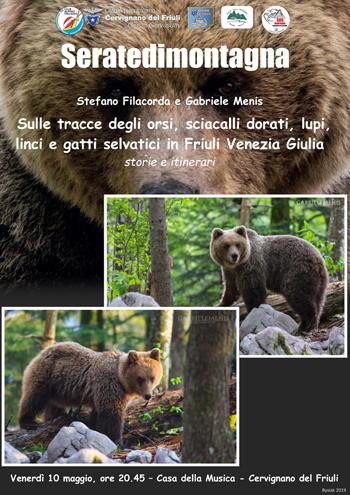 Locandina orsi e sciacalli dorati